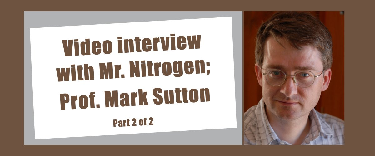 Nitrogen – Will the Farm to Fork Strategy Manage to Cut Nutrient Losses? [Video interview 2/2]
